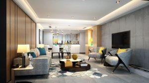 Appartement design de 170m² à Wu Kang Road offrant de très belles prestations